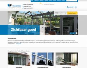 Nieuwe website Wieringer Glas